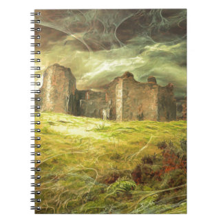 Carreg Cennen Castle .... Notebook
