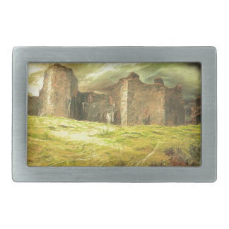 Carreg Cennen Castle .... Rectangular Belt Buckle