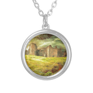 Carreg Cennen Castle .... Silver Plated Necklace