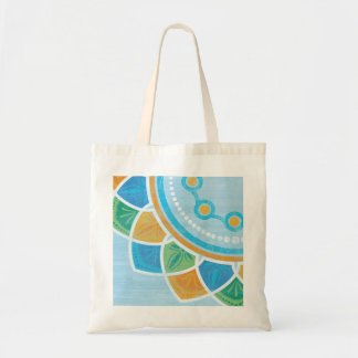 Carreta Blue Tote Bag