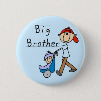 Carriage Big Brother Tshirts and Gifts 2 Inch Round Button