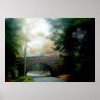 Carriage Bridge Poster