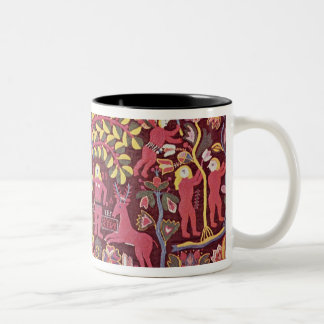 Carriage cushion cover depicting the Fall of Two-Tone Coffee Mug