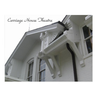 Carriage House Theatre view of architecture style Postcard