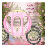 Carriage Pink Roses Princess Birthday Party