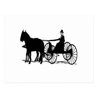 Carriage Postcard