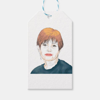 Carrie Fisher Gift Tags