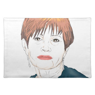 Carrie Fisher Placemat