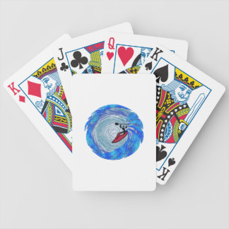 Carried Away Bicycle Playing Cards