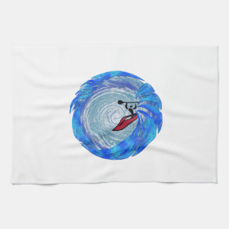 Carried Away Kitchen Towel