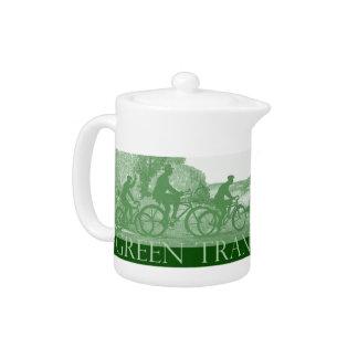 Carried Away Teapot