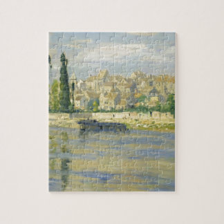 Carrieres-Saint-Denis by Claude Monet Jigsaw Puzzle