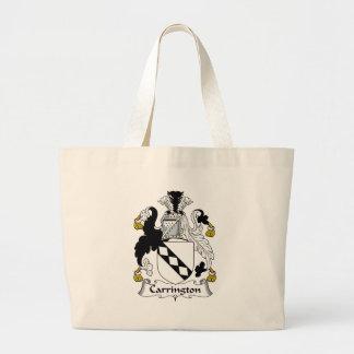 Carrington Family Crest Large Tote Bag