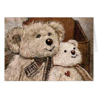 Carroll Teddy Bear Card
