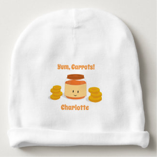 Carrot Baby Food Character | Baby Hat Baby Beanie