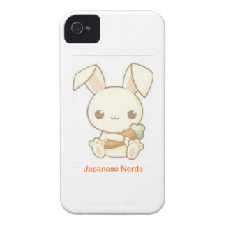Carrot Bunny iPhone 4 Cover
