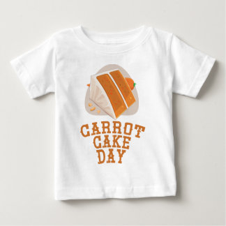 Carrot Cake Day - Appreciation Day Baby T-Shirt