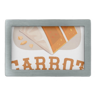Carrot Cake Day - Appreciation Day Belt Buckles