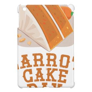 Carrot Cake Day - Appreciation Day iPad Mini Covers
