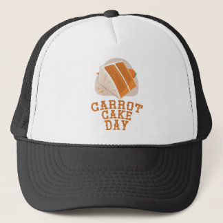 Carrot Cake Day - Appreciation Day Trucker Hat