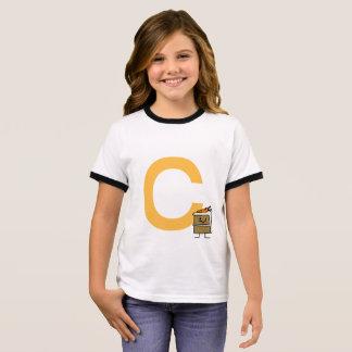 Carrot Cake Slice bunny teeth icing dessert Ringer T-Shirt
