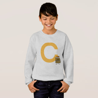 Carrot Cake Slice bunny teeth icing dessert Sweatshirt