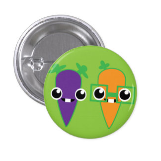 Carrot Kids - Badge 1 Inch Round Button