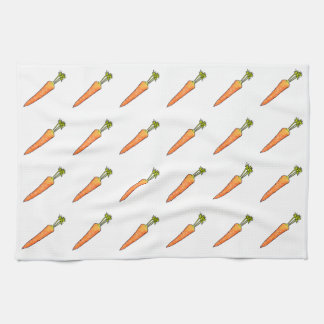 Carrot Kitchen Towel