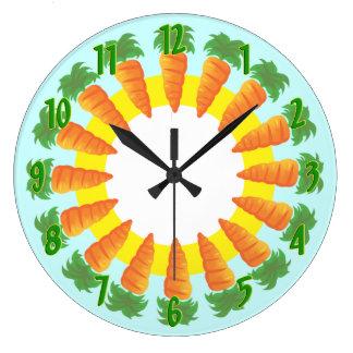 Carrot Kitchen Wall Clock