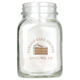 Carrot Layer Cake Slice Bakery Bake Shoppe Tip Jar