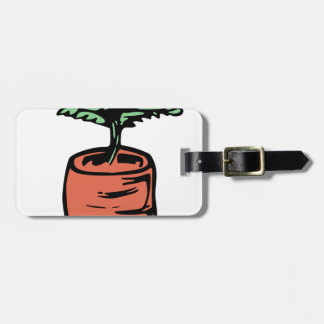 Carrot Luggage Tag