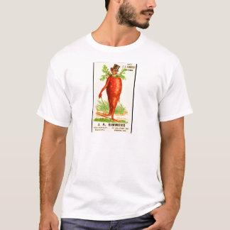 carrot man Victorian trade card T-Shirt