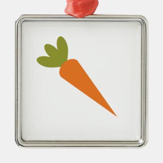 Carrot Metal Ornament