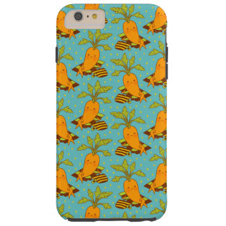 Carrot on Vacation-03 Tough iPhone 6 Plus Case