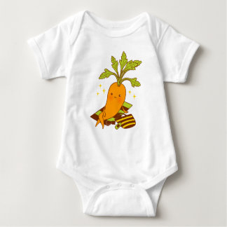 Carrot on Vacation Baby Bodysuit