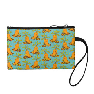 Carrot on Vacation Coin Purse