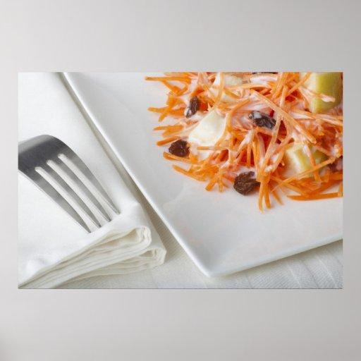 Carrot Salad Print