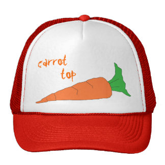 Carrot Top hat