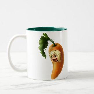 Carrot Two-Tone Coffee Mug