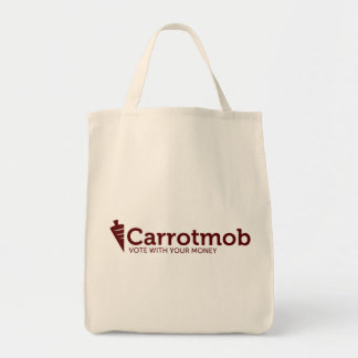 Carrotmob tote bag