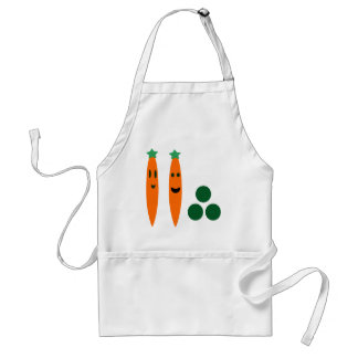 Carrots and Peas Standard Apron
