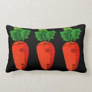 Carrots Lumbar Pillow