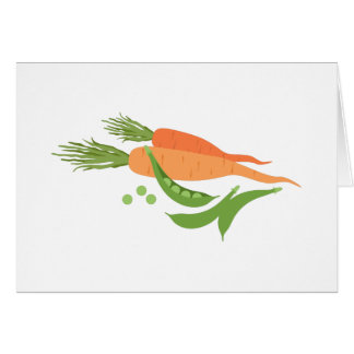 Carrots & Peas Card