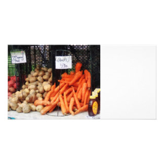 Carrots, Potatoes and Honey Photo Card Template