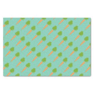 Carrots Tissue Paper