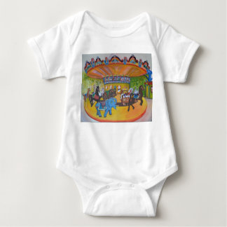 Carrousel Ride Baby Bodysuit