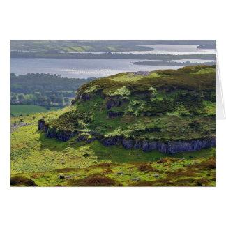Carrowkeel Above The Hut Sites Card