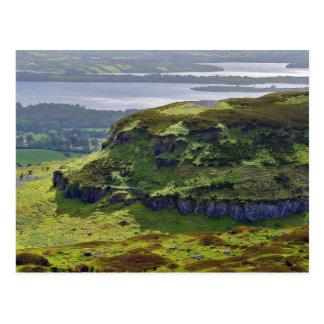 Carrowkeel Above The Hut Sites Postcard