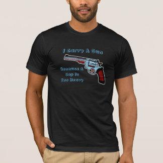 Carry A Gun Revolver Handgun Pro-Gun T-Shirt