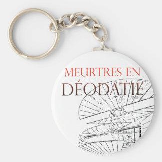 Carry Clés Murder in Déodatie Keychain